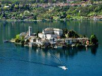Lago d'Orta. Isola di San Giulio e Sacro Monte